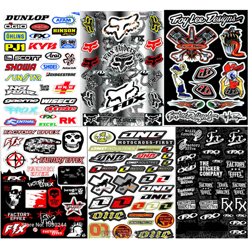 Newbee a4 size skull film sticker for honda suzuki kawasaki motorcycle bike car unit scooter funny decals waterproof pvc scrawl in decals stickers from