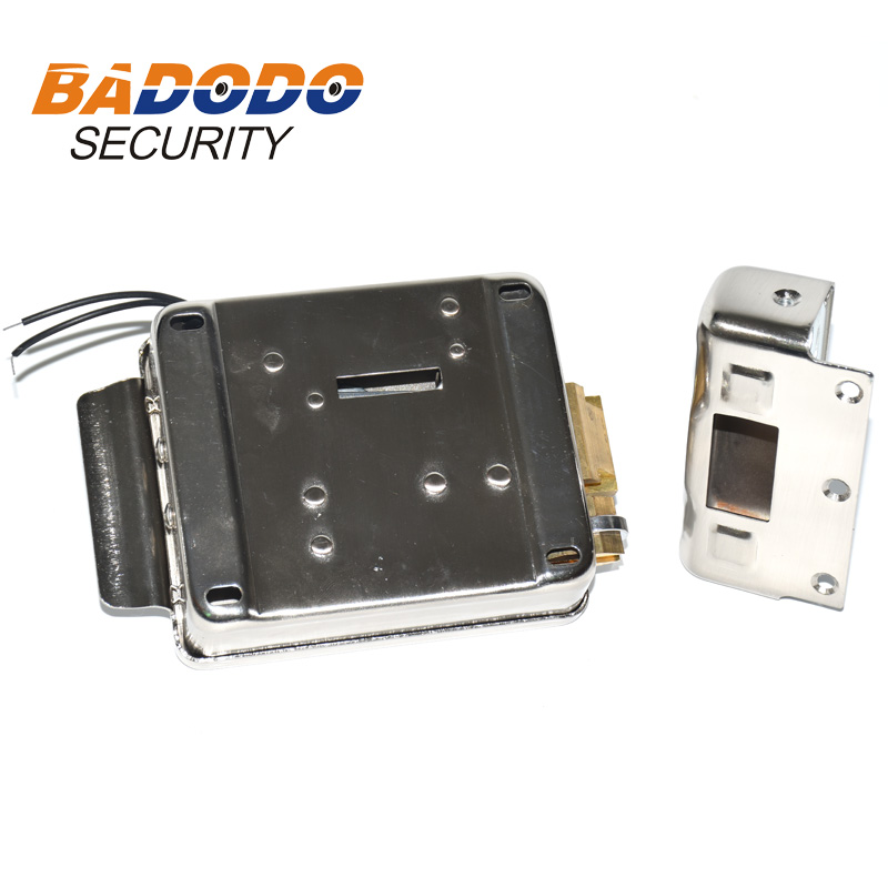 Image 3 - Electric Gate Door Lock Secure Electric metallic Lock Electronic Door Lock for Video Intercom Doorbell Door Access Control-in Electric Lock from Security & Protection