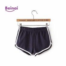 f1393afa68 Beina mujeres rápido seco transpirable deportes cortos de entrenamiento  tamaño medio Control gimnasio ropa deportiva Soft
