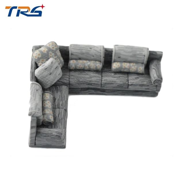 10 STÜCKE Miniatur Modell Sitzgruppe 1:50 Skala Modell Sofa Für Wohnzimmer  Indoor Szene Layout