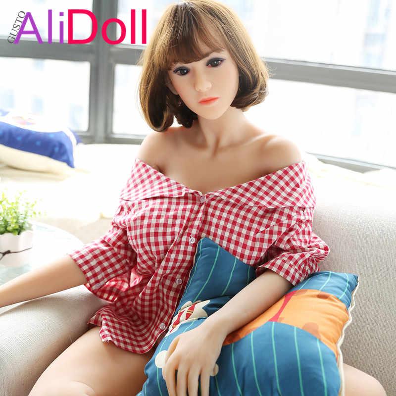 GUSTOALIDOLL 168 см (5.51ft) Тайский мышцы настоящая Силиконовая секс-кукла игрушка-скелет эротические Poupee де Sexe большая задница секс Пуппе Realistische