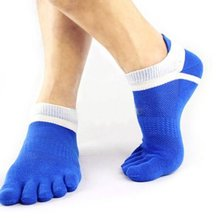Pure Cotton Breathable Toe Socks (1 Pair)