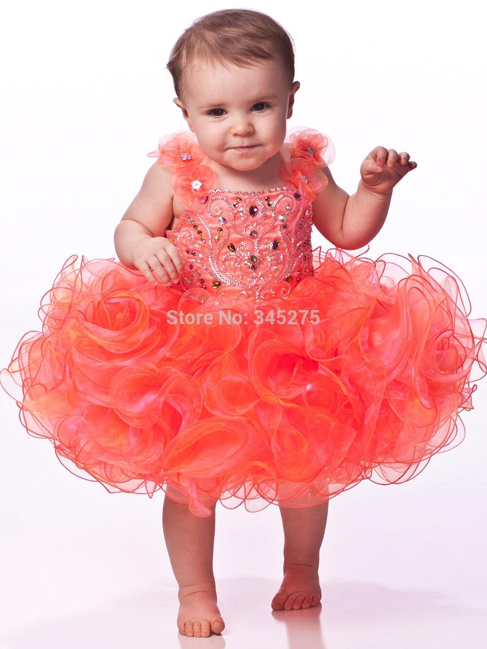 Popular Baby Girl Glitz Pageant Dresses-Buy Cheap Baby Girl Glitz ...
