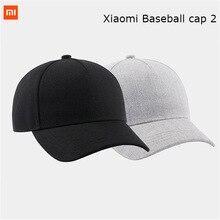 Xiaomi Original mi Baseball Cap 2 Popular Design Sweat Absorption Reflective Snapback Hip Hop For Men Women smart Home Product