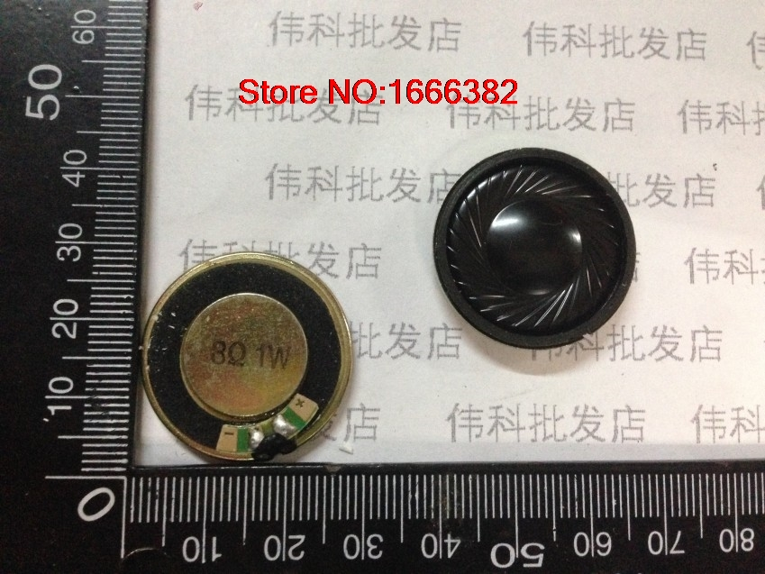 2 PCSLOT 8 ohm diameter 28 MM thickness 5mm Speaker electronic dog speakers 8R