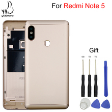 YILIZOMANA Mobile Phone Rear Door Housings Parts Case For Xiaomi Redmi Note 5 Pro Replacement Battery Back Cover Free Tools