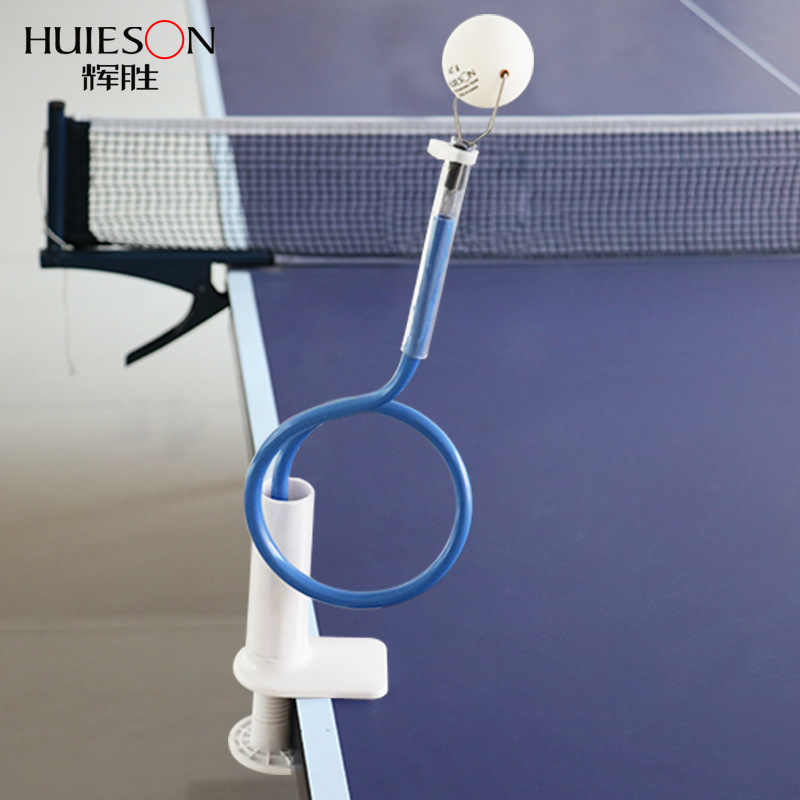 Huieson New Table Tennis Training Machine Fixed Rapid Rebound Ping Pong Ball Stroking Trainer Table Tennis Training Tool