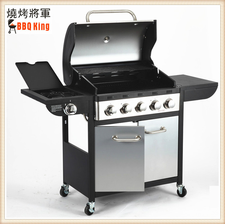 Exported to Europe high quality lava rock outdoor garden villa vertical bbq gas stove machine home&commercial bbq
