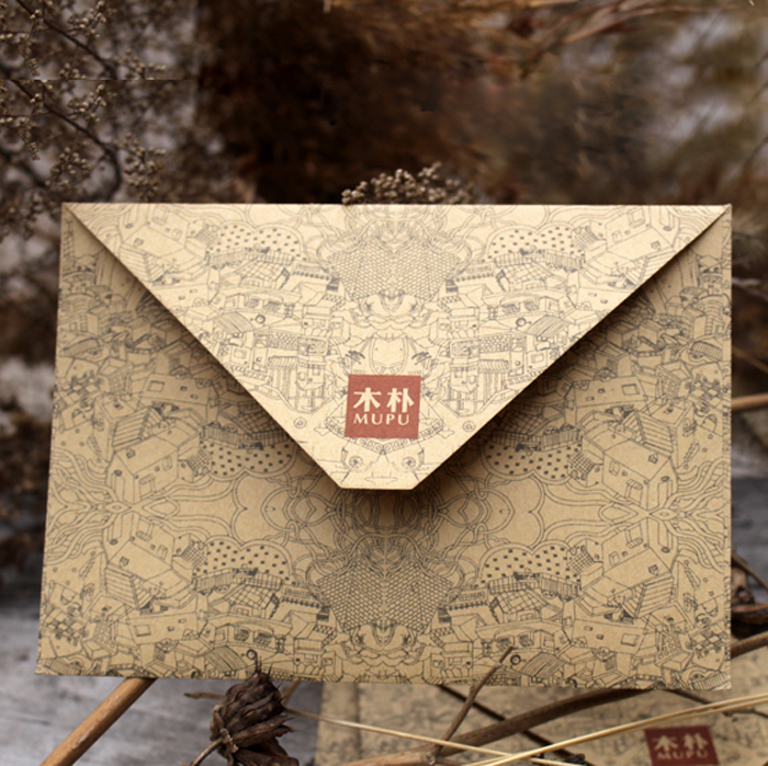 50pcs/lot Envelopes Vintage Retro Kraft Paper Envelope European Style Envelopes For Card Scrapbooking Christmas Gift Packing high quality 185 127cm wedding invitation card with inner paper and envelopes many kinds of styles sample link $0 95 per piece