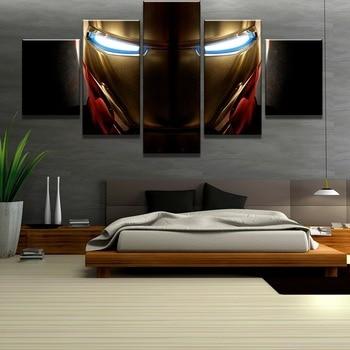 5 Pcs Iron Man Marvel Movie Paintings 1