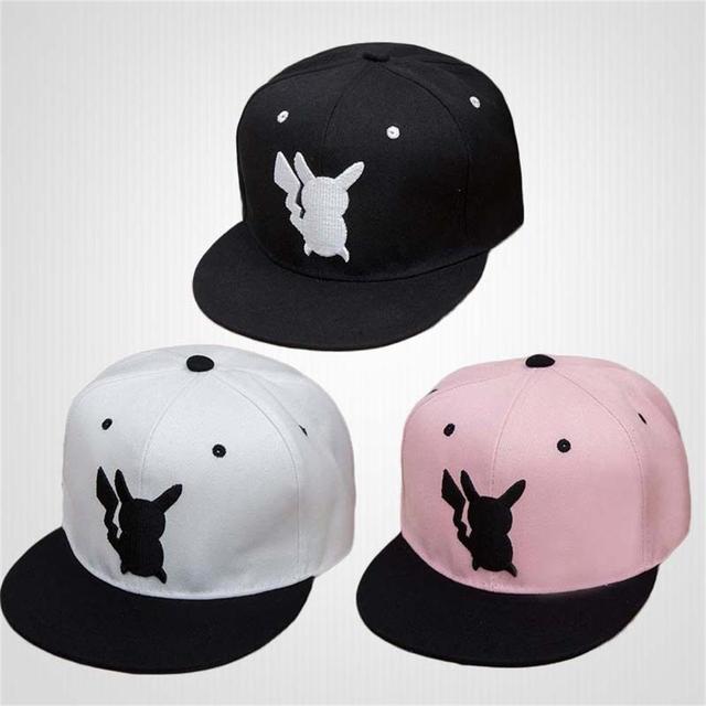 Pokemon Pikachu Cotton Hip Hop Baseball Cap