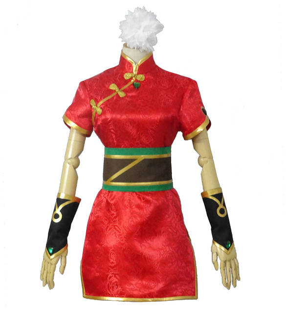 Online Shop The Loose Cannon Firecracker Jinx Cosplay Costume Anime Red  Custom Made Cheongsam  0fd60fd0f7b9