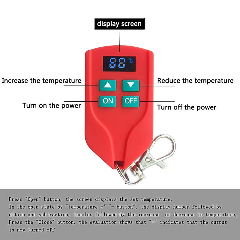 Nuevas plantillas de calefacción de llegada con control remoto - Accesorios de calzado - foto 2