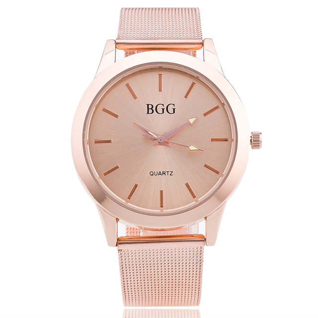 New Brand watches Casual simple women mesh belt quartz watch high quality  luxury fashion classic wristwatch 5a7a8b3241d