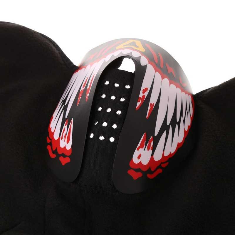 Супер крусветодио дный Тая светодиодная маска светящаяся маска с черепом Maske Masque Horreur Хэллоуин украшения ремесленные принадлежности