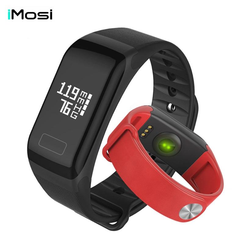 IMOSI SmartBand Артериального Давления Смотреть F1 Смарт Браслет Heart Rate Monitor Watch SmartBand Беспроводной Фитнес Для Android IOS Телефон