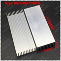 (Бесплатная доставка) 2 шт. 100x40x11 мм алюминиевые радиаторы  электронный радиатор  охлаждение алюминиевого блока