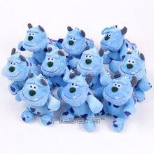 Cartoon Movie Monsters Inc Sullivan Mini Plush Pendants Soft Stuffed Toys Dolls 11cm 10pcs/lot