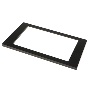 Image 3 - Car Stereo Radio Fascia Panel Trim 2Din Frame for Audi A4 B6 B7 SEAT Exeo Radio Installation Double Din Car Dash Cover Frame ABS