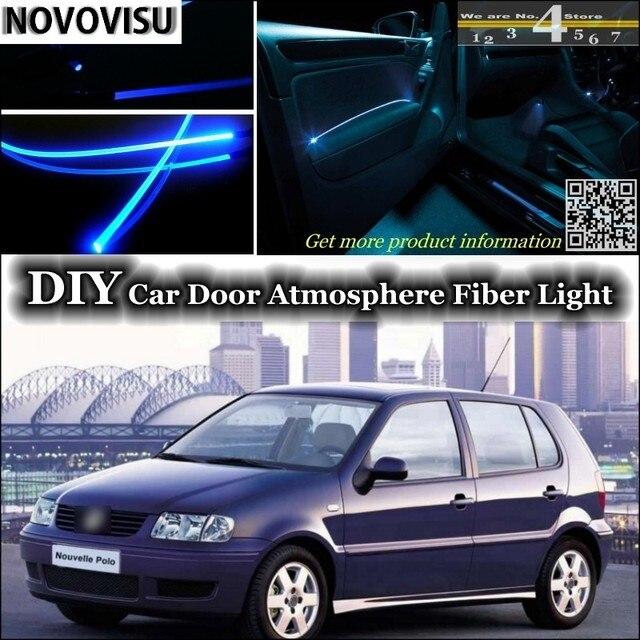 Novovisu para Volkswagen VW Polo interior ambiente luz