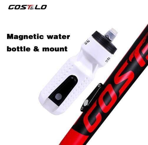 710ml Costelo Bicycle Water Bottles Magnetic Bottle Cycling Bike Flask Pressing Outside Sports Bottle
