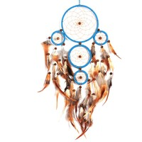 NEW Dream Catcher Wall Hanging Decoration Bead Ornament Feathers Long OP