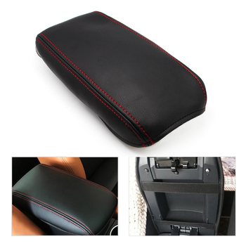 Car Center Console Armrest Box Cover Microfiber Leather Protection Pad for VW Golf 5 MK5 Jetta 2005 2006 2007 2008 2009 2010 for vw jetta 5 a5 mk5 2005 2006 2007 2008 2009 2010 2011 1k anti slip mat dashboard cover pad dashmat accessories for volkswagen