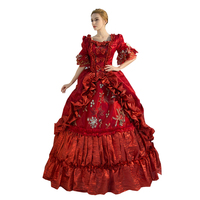 High Quality Women's Prom Gothic Victorian Fancy Palace Masquerade DressesRenaissance Wench Gothic Princess Dress Ball Gown
