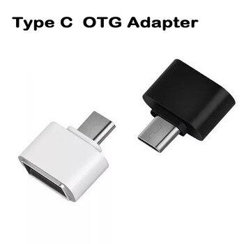 Type-c OTG USB 3.1 à USB2.0 type-a adaptateur connecteur pour Samsung Huawei téléphone haute vitesse certifié accessoires de téléphone portable