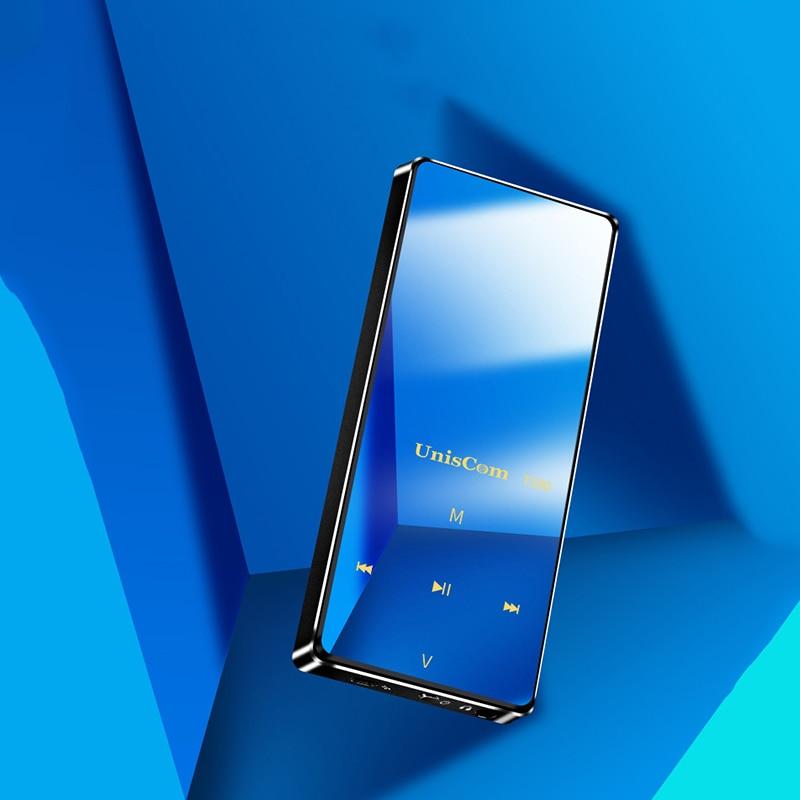 купить Uniscom T590 Bluetooth Sport Lossless HiFi MP3 Player Portable 8GB FM Radio E-book APE FlAC Music Player по цене 1311.67 рублей