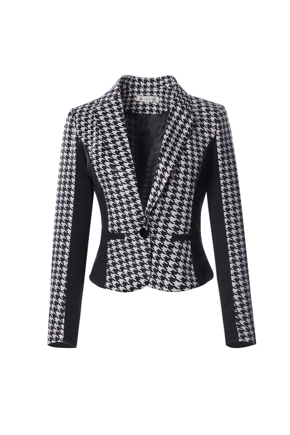 Women's Clothing ... Blazer & Suits ... 32656937768 ... 5 ... 2018 New Arrival Women Long Sleeve Notched Style Blazer Suits Office Casual  Plaid Color Clothing Female Blazer Single Breasted ...