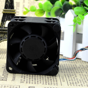 Image 2 - The original Delta 6056 double motor 6CM high speed turbo fan violence 12V 1.92A GFC0612DS cooling fan Free Shipping
