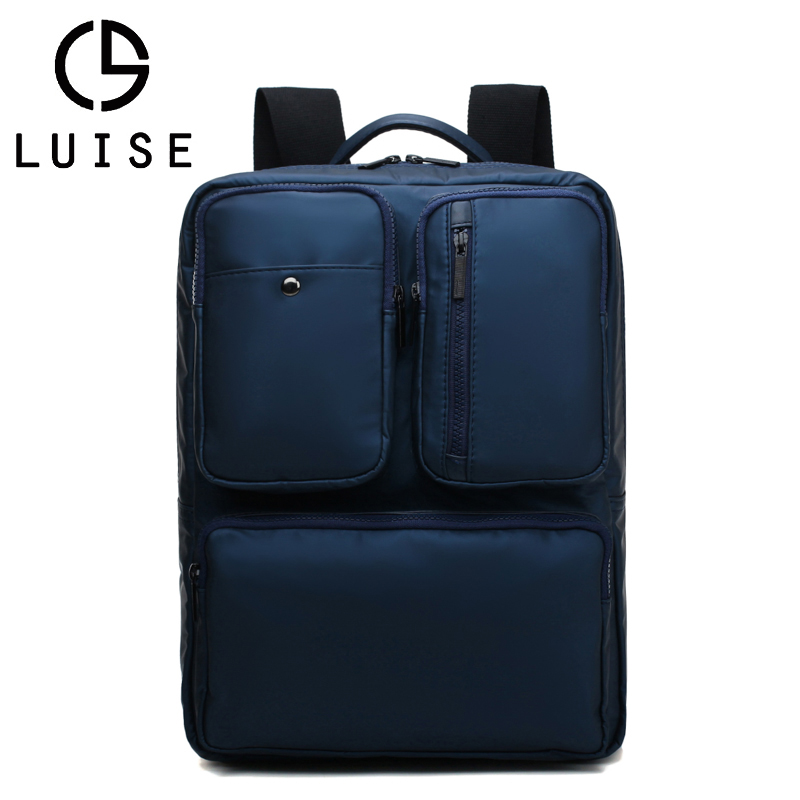 LUISE Brand Unisex Backpack Large Capacity New Travel Backpack Bag High Quality