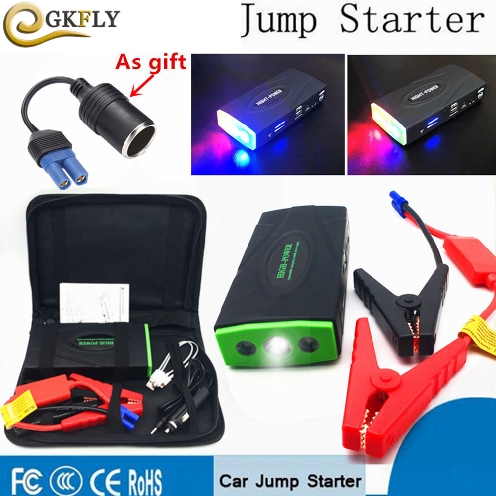 Multi-Function 12000mAh 12V 600A Starting Device Portable Jumper Starter Car Battery Booster Charger Buster Mini Car Starter LEDMulti-Function 12000mAh 12V 600A Starting Device Portable Jumper Starter Car Battery Booster Charger Buster Mini Car Starter LED