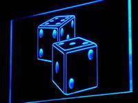 ADV PRO I897 B Dice Game Gamble Bar Beer Neon Light Sign