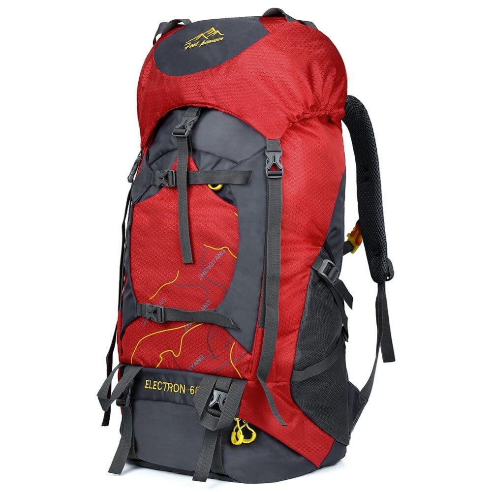 Vbiger 60L Mens Backpack Waterproof Backpacking Pack Travel Daypack Large Capacity Trekking Mountaineering For travel lovers ...