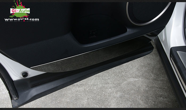 Gi Auto Design FOR Lexus NX 200/200T/300H Black Stainless Door Scratch