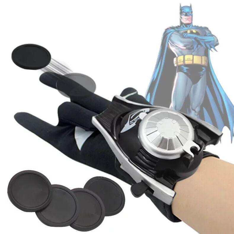 Marvel Мстители 3 Возраст Альтрона Халка черная Widow Vision Ultron Железный человек Капитан Америка Фигурки Модель игрушки - Цвет: Batman glove