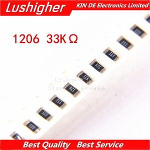 Resistor 100 smd 1206 5% 333
