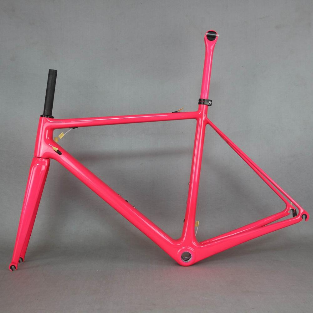 2019 Pink  Fm066 Carbon Frame  New T1000  Full Carbon Fiber Frame Complete Bike Frame  New EPS Technology