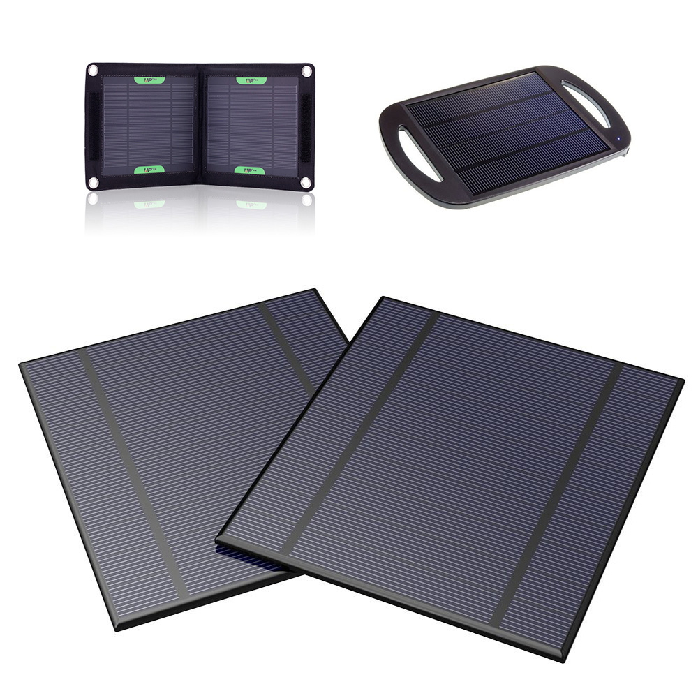 X-DRAGON Portable Solar Panel 5V 2.5W Suit for DIY Portable Solar Phone Charger Solar Battery Charger and more.