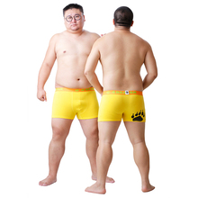 2016 New Arrival Bear Claw Men's Plus Size Boxers Bear Paw Winter Underwear Sexy Shorts For Gay Bear Free Shipping! M L XL XXL