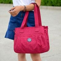 2019 Women Messenger Bags for Women Waterproof Nylon Handbag Female Shoulder Bag High Quality Large Capacity Crossbody Beach Bag