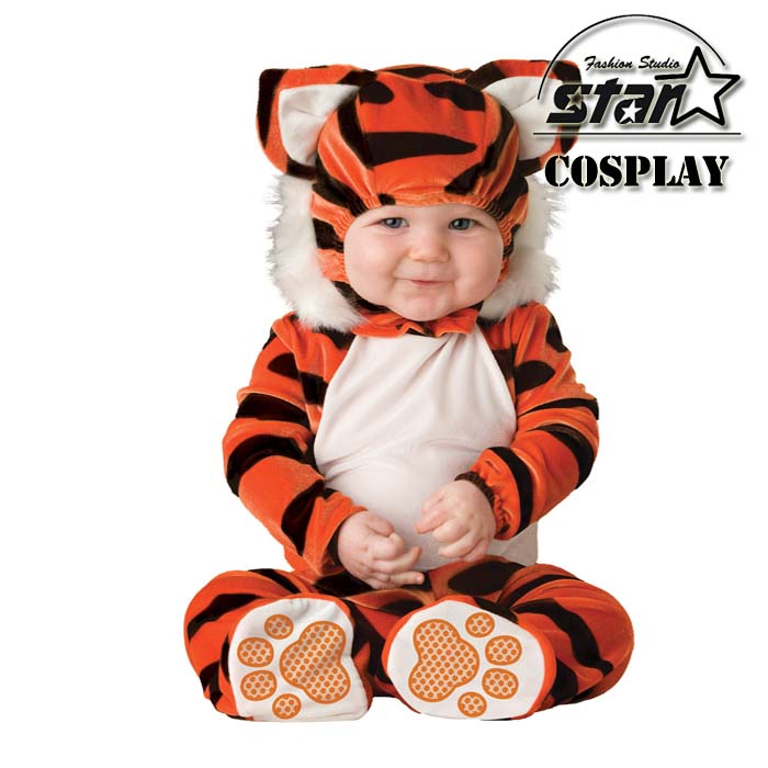 Natal Halloween Boys Girls Baby Costume Infant Animal Rompers Kids Clothing Jumpsuits Newborn Clothes Christmas Fall Winter Wear цена