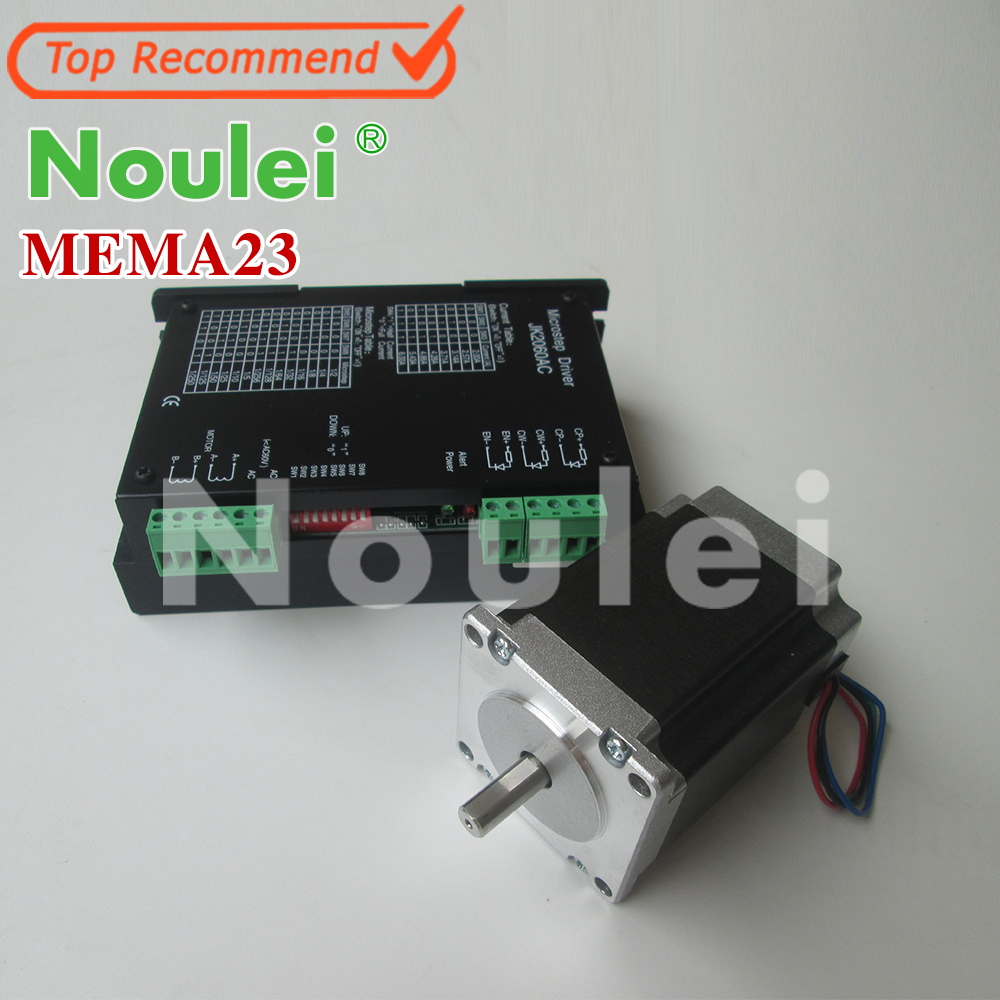 NEMA23,57HS512006 51mm Hybrid Stepping Motor 1.8N.m, 2phase stepper motor +2 phase hybrid motor driver