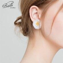 [Clearance] Handmade Yarn Flower Stud Earring for Girls Fashion Cute Women Earrings Lost Money Price Clearance