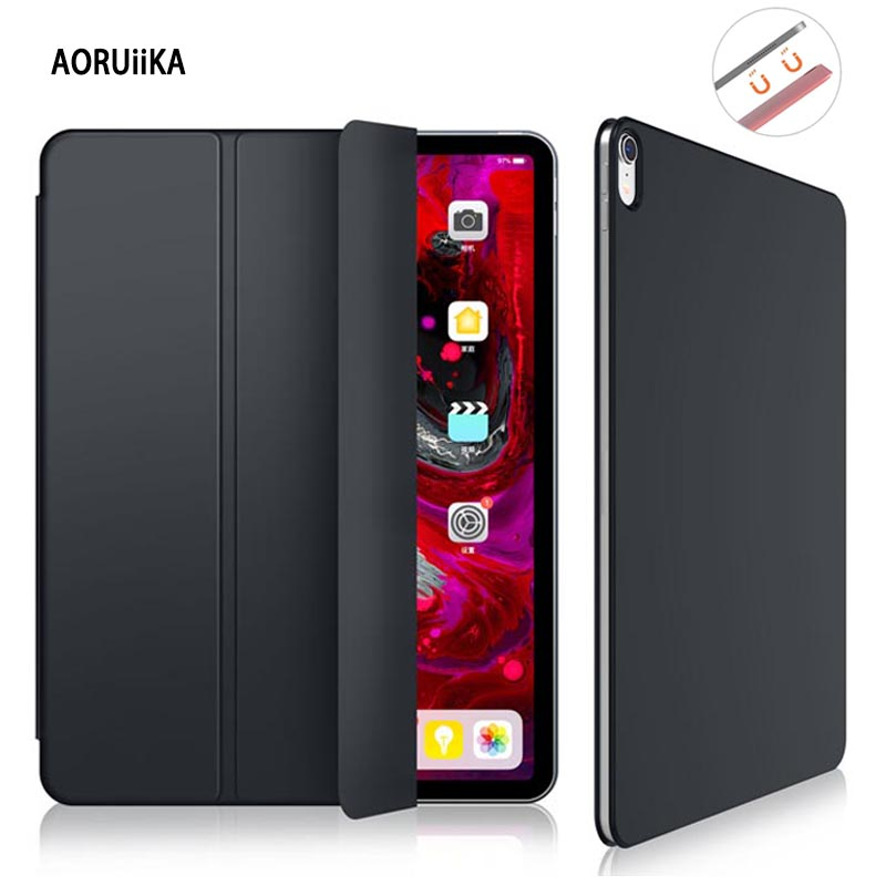 Case Magnetic New IPad Original Trifold-Stand-Cover Folio Smart For Pro 1:1 11 Ultra-Slim
