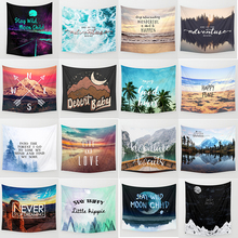 Hot sale fashion adventure theme wall hanging tapestry home decoration rectangle tapestry1500mm*1300mm