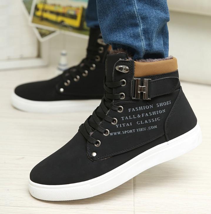 Vulcanisé Huanqiu Haute kaki Casual De marron Noir Suede automne Hommes Zll163 Qualité Givré Chaussures Printemps gris BpRwr5qp