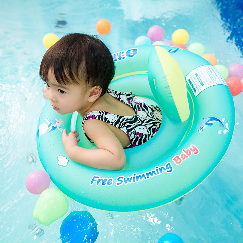 6-36 Months Baby Inflatable Circular Seat Swimming Rings Floating Kids Swim Pool Accessories Child Bathing Water Toy Circle